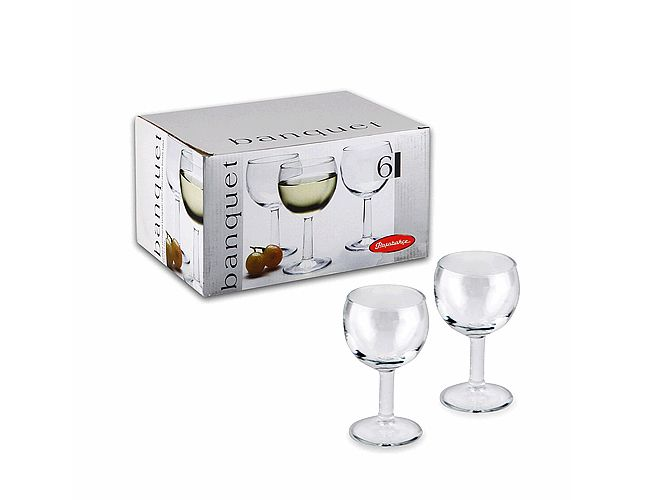 Набор фужеров «Банкет» д/вина 160 мл. (6 шт.) 44425