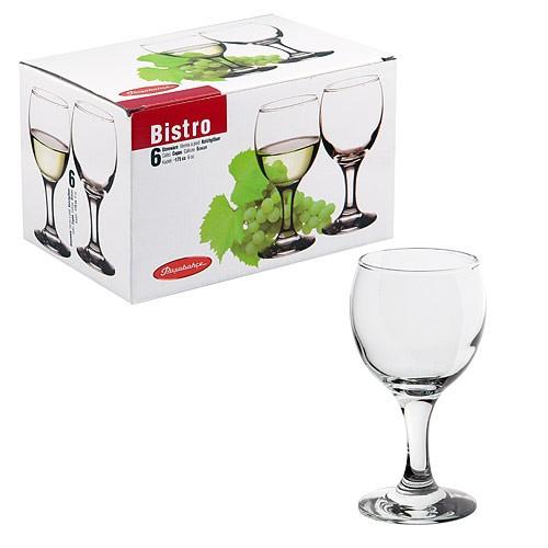 Набор фужеров «Бистро» д/бел. вина 175 мл. (6 шт.) 44415