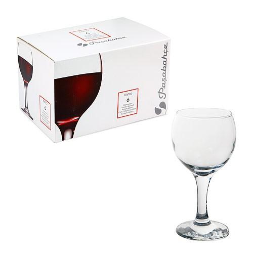 Набор фужеров «Бистро» д/кр. вина 225 мл. (6 шт.) 44412