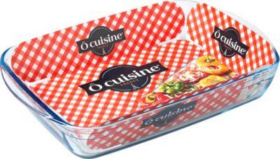 Блюдо прямоугольное «Окузин» 28×20 см. 217ВС00