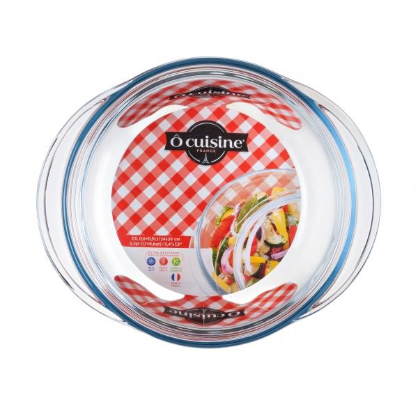 Кастрюля круглая «Окузин» 20 см. 1,6 л. 204АС00