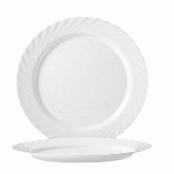 Блюдо круглое «Трианон» белое 31 см.