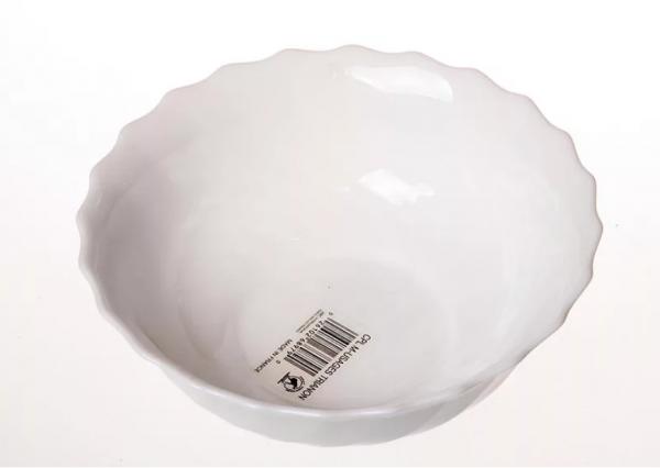 Салатник «Трианон» белый 16 см.