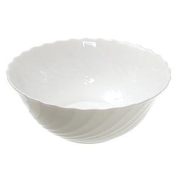 Салатник «Трианон» белый 24 см.