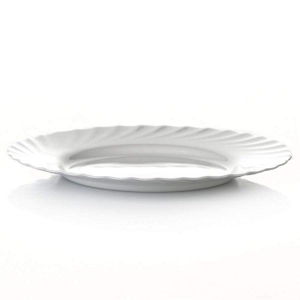 Подтарельник «Трианон» белый 25 см.