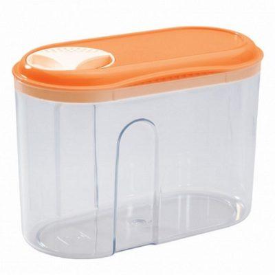 Емкость для сыпучих продуктов с дозатором (0,75 л.)